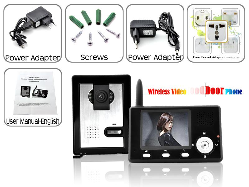 Portable Wireless Intercom System For Home Or Office
